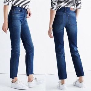 NWT Madewell Hi Rise The Perfect Vintage Jean w31